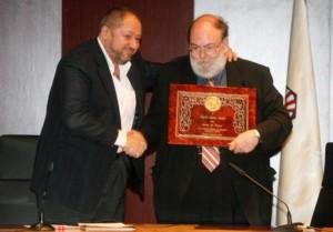 Manuel Torralba declara el Claudi Alsina Soci d'Honor de Thales