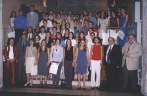 Primera festa de Distincions de les PAU amb el conseller Mas-Colell